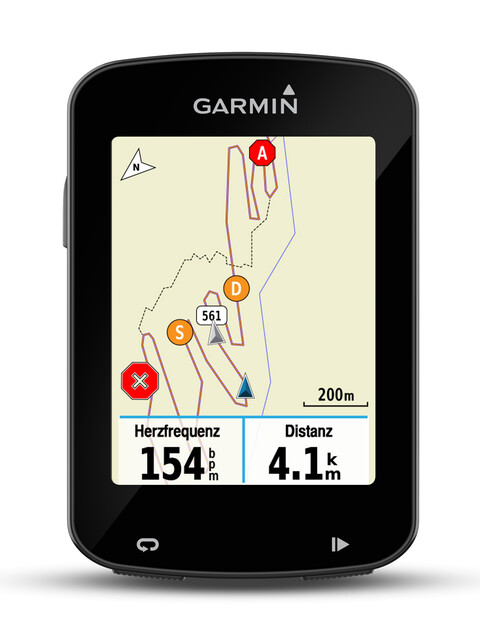 Garmin Edge 820 GPS - GPS - fixation cintre aéro incluse noir